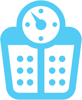 Weighing scales icon